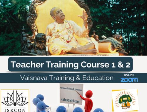 Teacher Training Course 1 & 2 combined (Online)