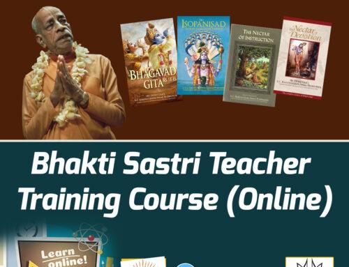 Bhakti Sastri Teacher Training Course (Online)